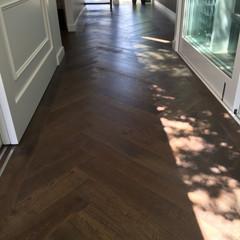 Chevron Wood Floors