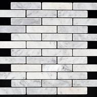 Biello brick tumbled marble mosaic