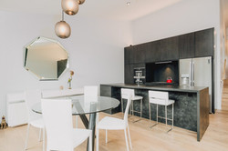 Beech Nut Timber Flooring & Slate Kitchen
