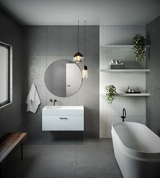 omvivo bathroom basins and baths