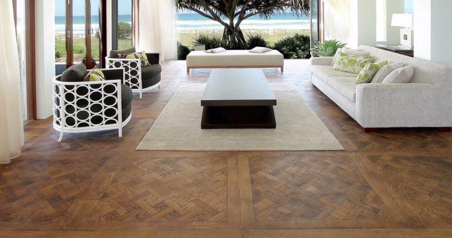 Parquet flooring b&o casa