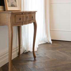 Marrone Herringbone Parquet Floors