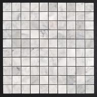 Carrara Marble Mosaic 30x30mm
