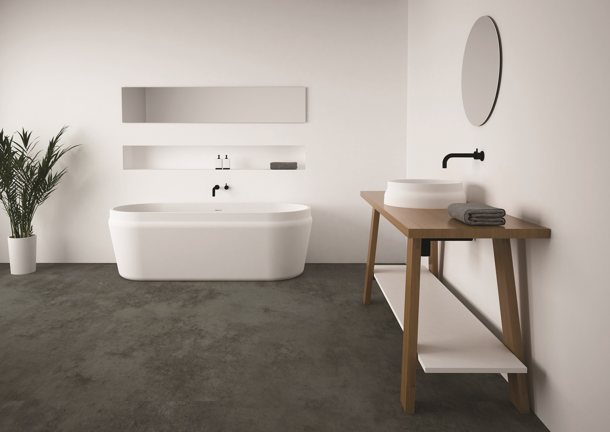 Omvivo Latis Bath and Basin