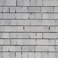 Uneven White Mosaic