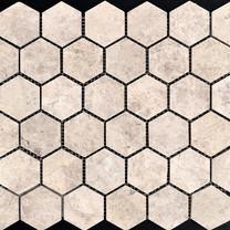 Tundra Hexagon mosaic