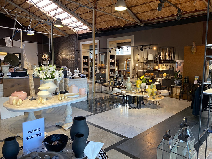 Interior design store