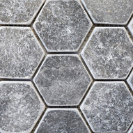 Azzuro tumbled Hexagon
