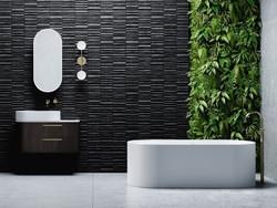 Omvivo Lune bath and basin
