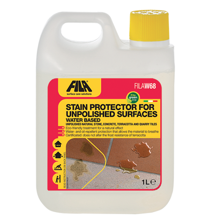 FILAW68 - Water-Based Stain Protector for Unpolished Surfaces