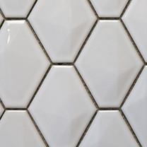 Rhombus white gloss