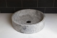Basins, bathroom sink, bathroom bench (2