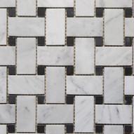 Carrara Weave mosaic
