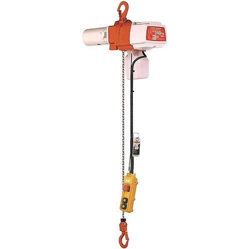 KITO elektrische kettingtakel; dubbele snelheid