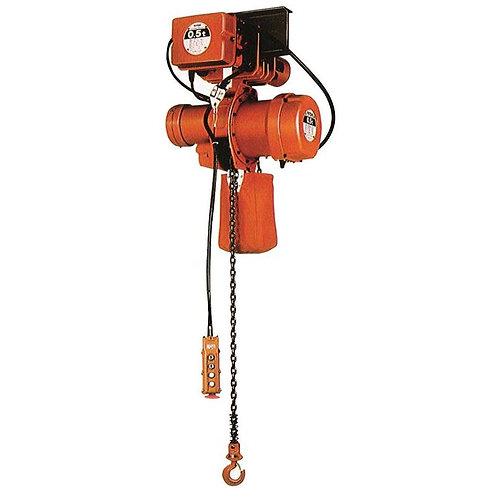 Nitchi MHE5F elektrische kettingtakel met samengebouwde elektrische loopkat
