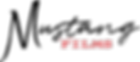 02_Mustang Films_Logo_Black_No Horse_Red