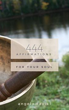 Angela Davis L Affirmations workbook
