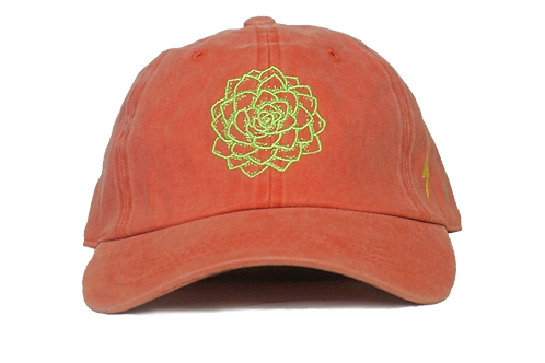 Flower Power Dad Hat