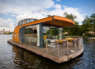 There's a difference between house boats and floating homes