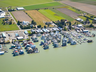 There are more than 800 floating homes in BC!