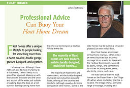 John Eastwood on buying a floating home_