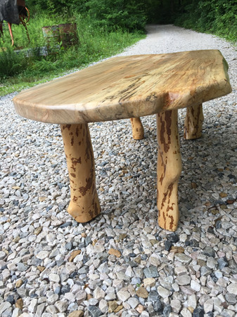 Maple & Rhododendron Table 26_x50_x18_ $