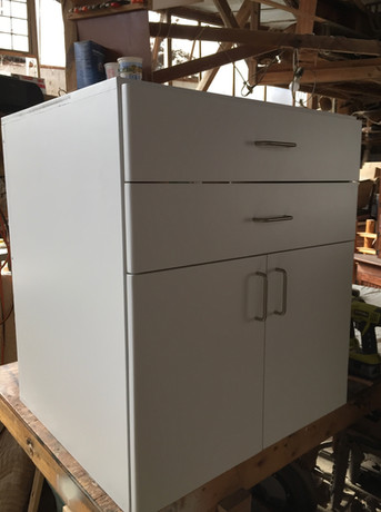 Made-to-order cabinetry