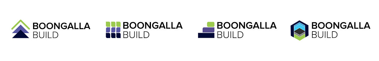Boongalla Build_Logo Concepts_Iterations