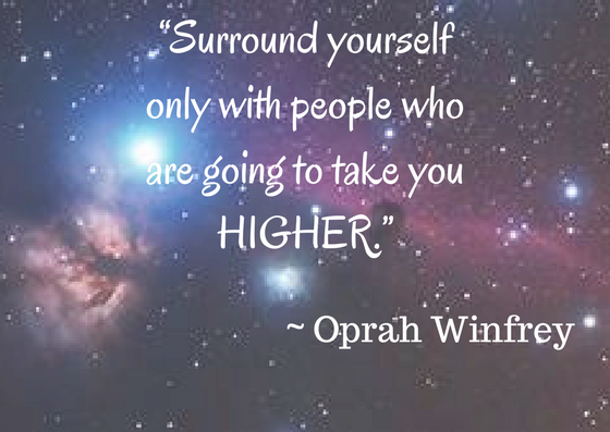 Who is in your circle of support? Are they lifting you up or bringing you down?