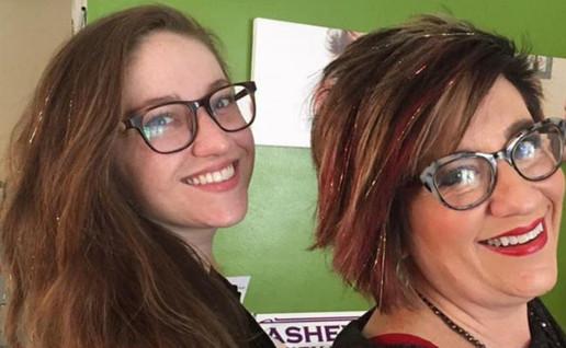 hair sparkles fairy hair party part ideas