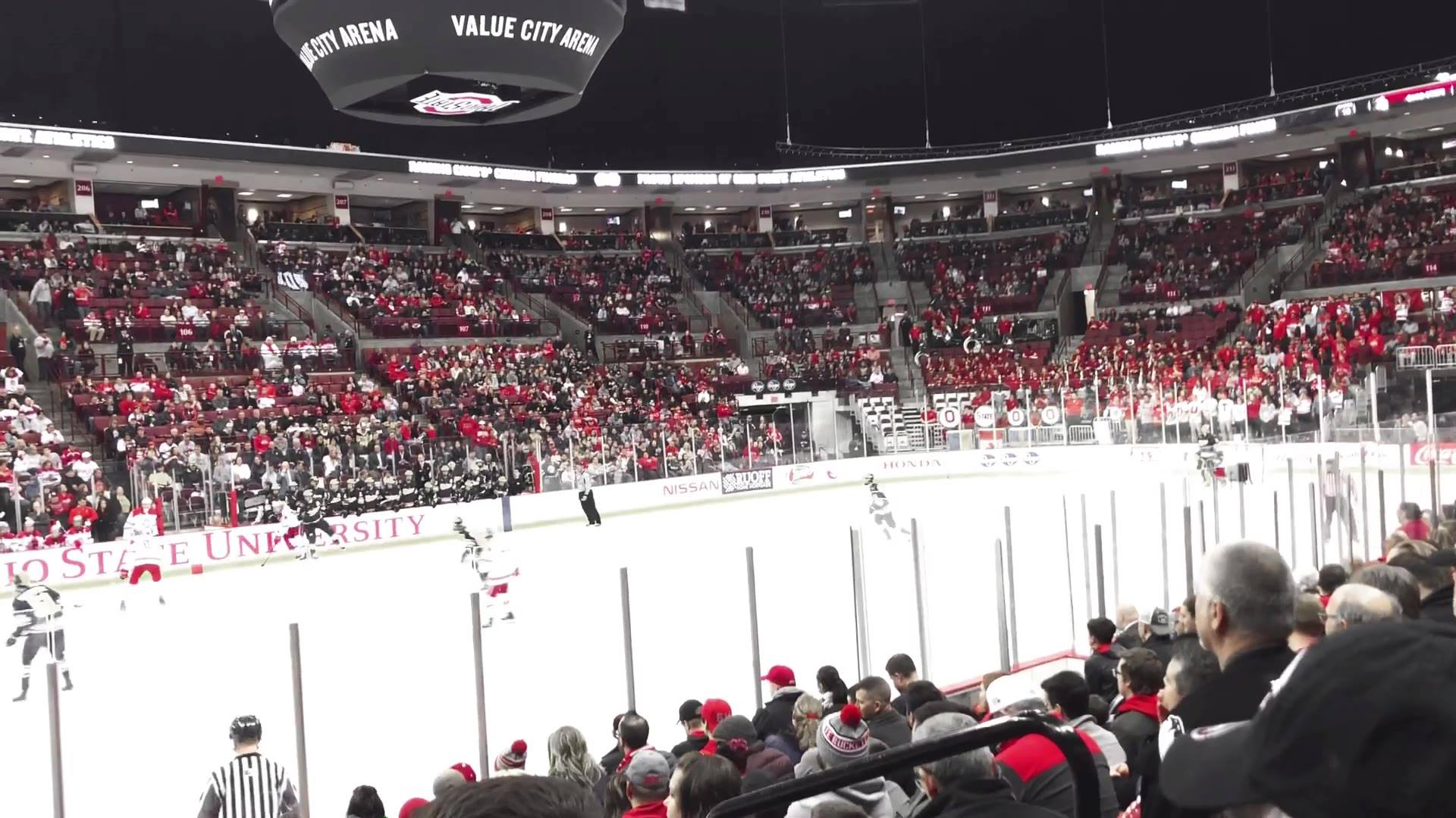 Both Dads & Daughters of Dublin AND Dads & Sons had events this weekend.  The Son's went to see a hockey game Friday night.  #4 OSU playing Xichigan.  All the good Dads were there and pretty sure they bought about 160 hot pretzels if I had to hazard