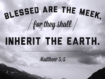 "The Christian Life-""Meekness is more,"" a poem inspired by Matthew 5:5."