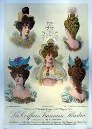 My First Novel's Inspirations-Part 9c/Women's Fashions-Hairstyles, Wigs and Hats