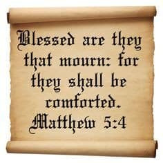 The Christian Life-Comfort For Those Who Mourn: A Poem Inspired by Matthew 5:4.