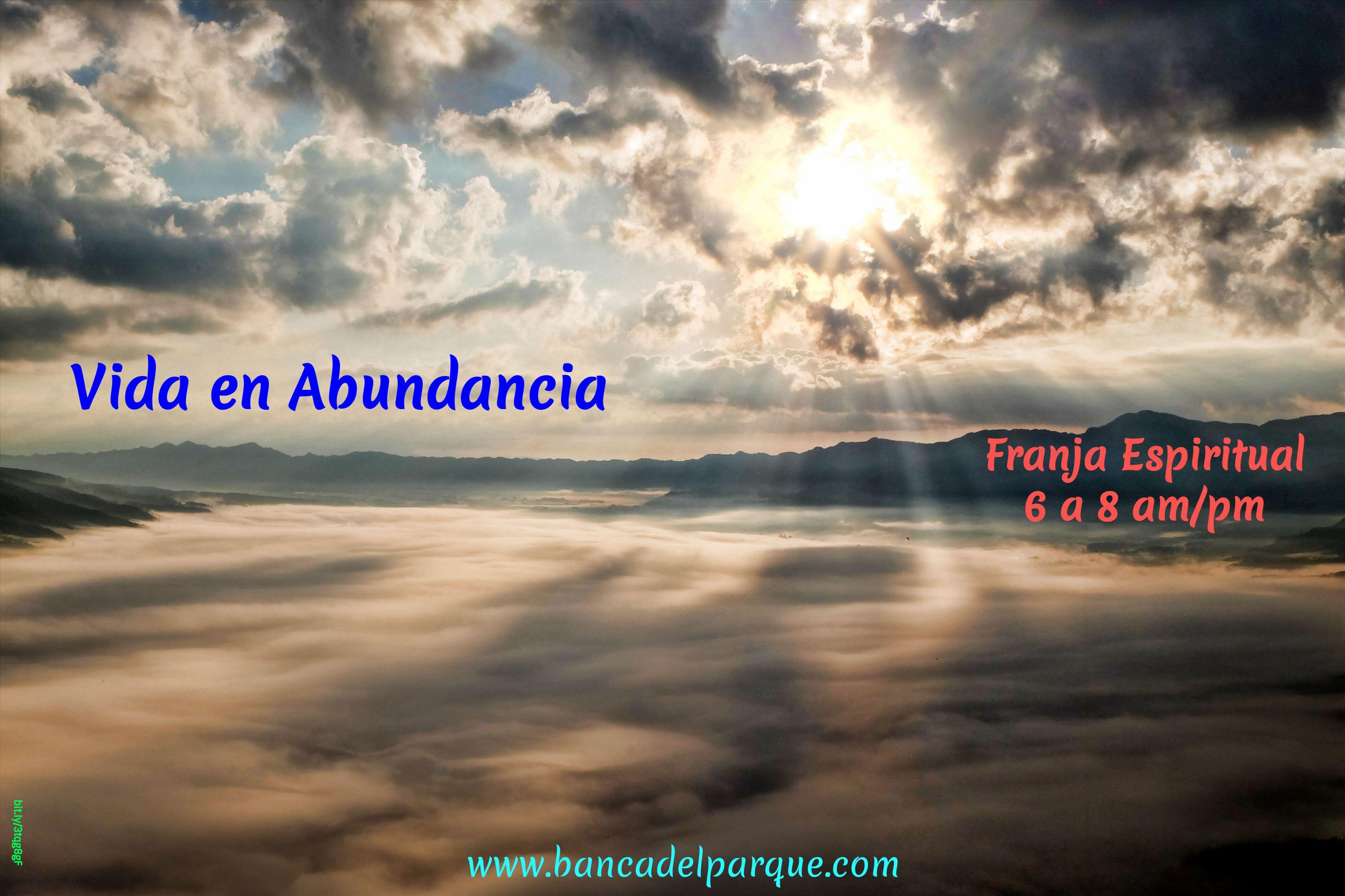 18.04.2021 - Vida en Abundancia