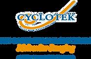 Cyclotek AUS NZ Logo Orange Strap.png