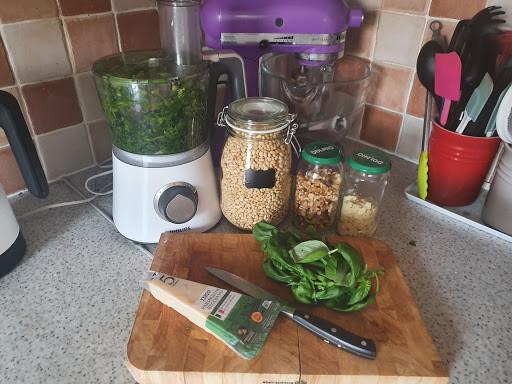 My 'Three-pointed Leek' Pesto Recipe