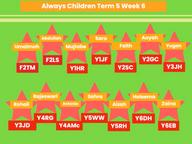 Always Children Winners - Week 6