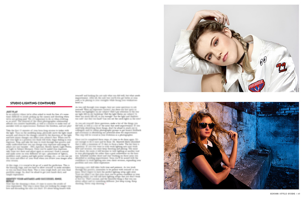 dallas senior photographer jen bertrand senior style guide magazine