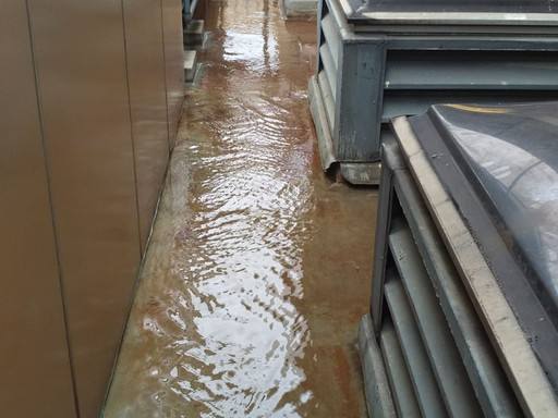 Solution of waterproofing works under frequent rain showers