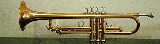 Ansicht einer Trompete