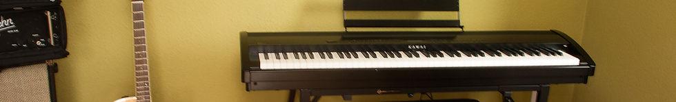 Eins unserer Digitalpianos im Studio