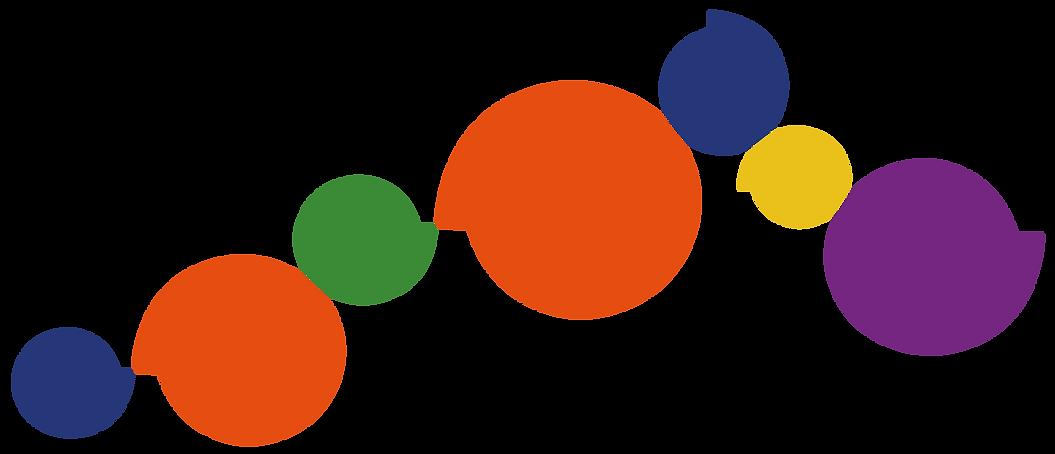 Grafismo criado com o logo da Qualicom