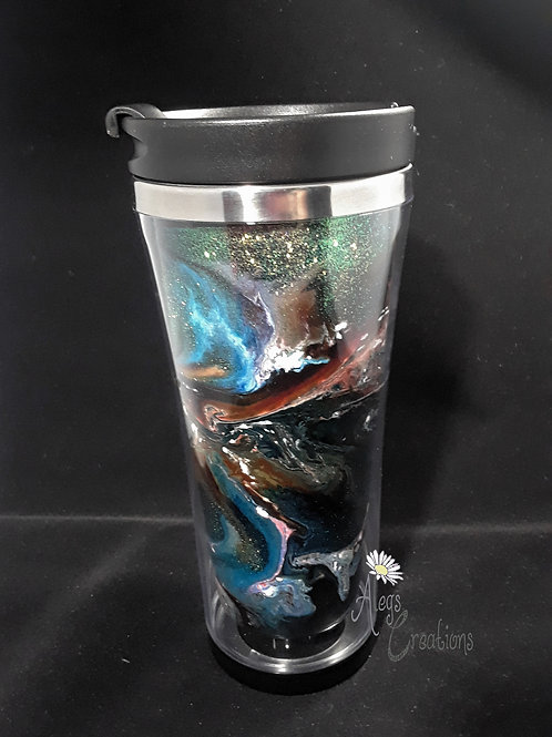 Galaxy Unknown 18 oz tumbler