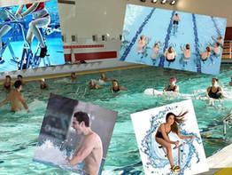 Aquaform, Aquabike, Aquapalme, Natation adulte...