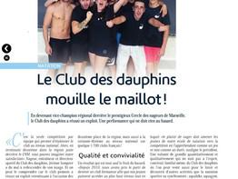 Le Pennois janvier 2016 : les Dauphins encore à l'honneur !