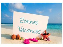 Bonne vacances, rentrée et prévision groupes ENF rentrée 2020-2021