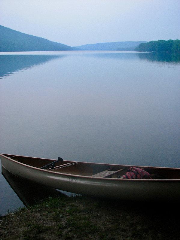 Canoe on shore on Canadice copy.jpeg