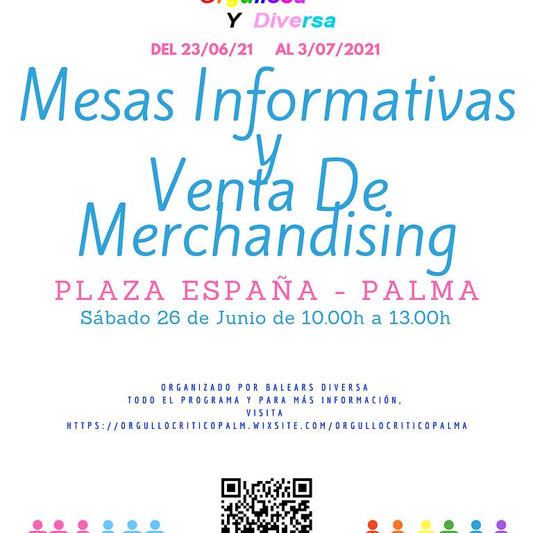 Mesas Informativas Plaza España