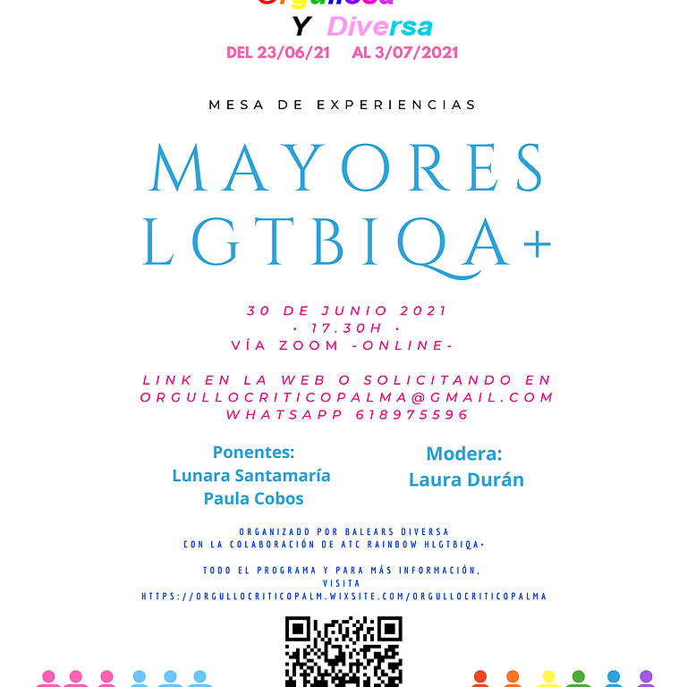 Mesa de experiencias Mayores LGTBIQA+